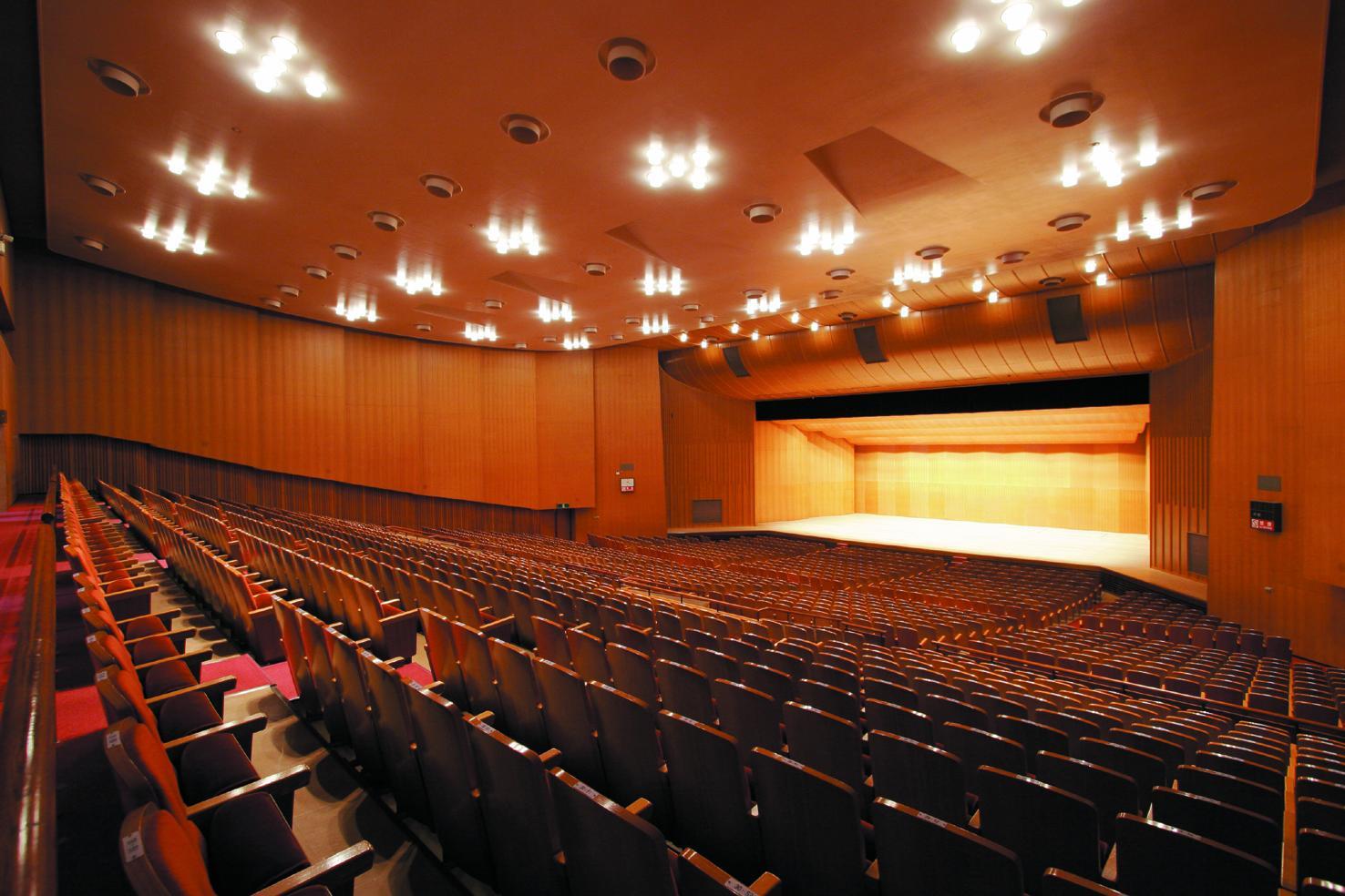 宝山ホール(鹿児島県文化センター)-4