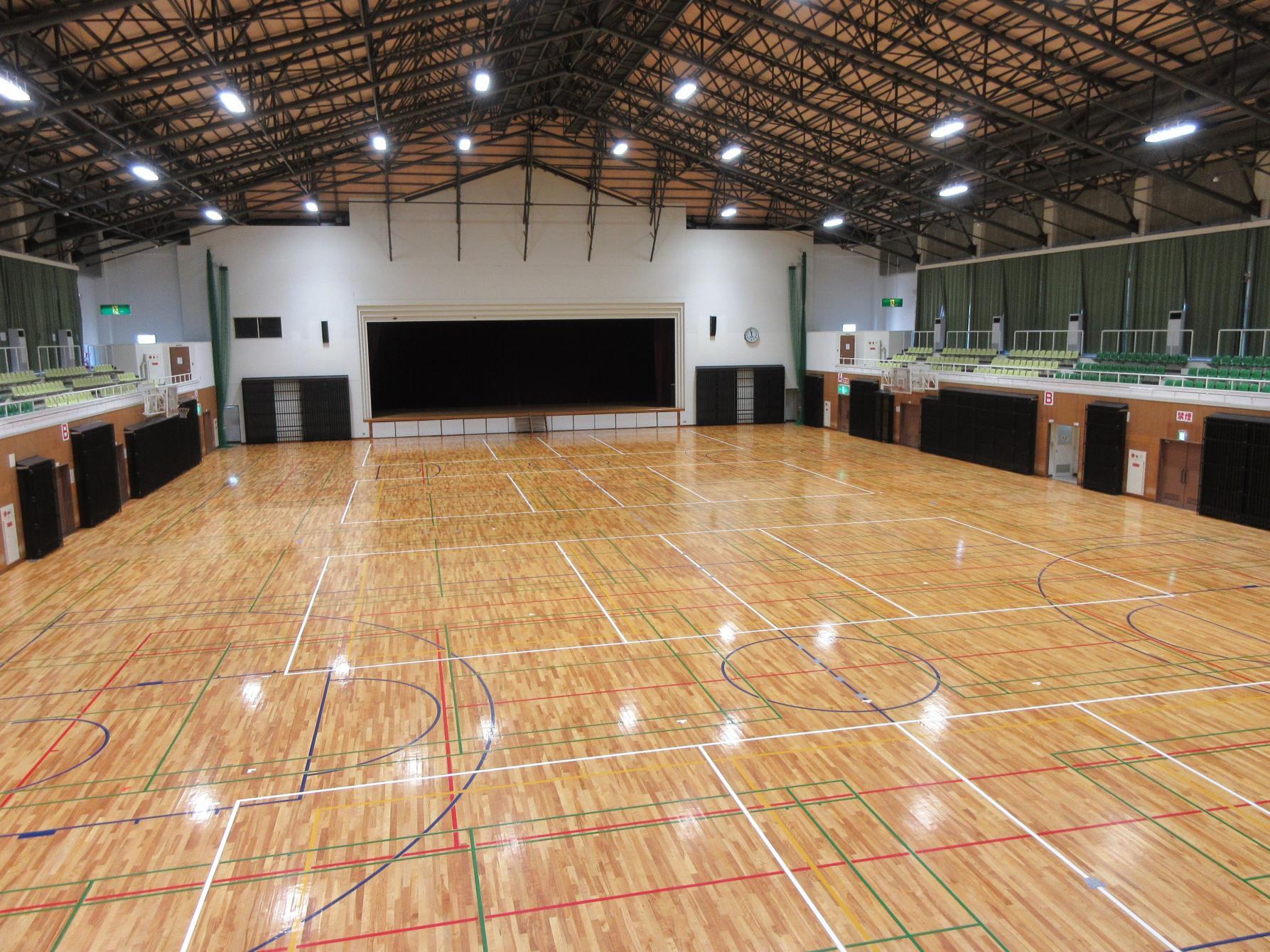桜島総合体育館-1