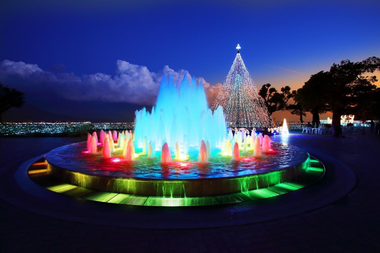 SHIROYAMA HOTEL kagoshima ウィンターイルミネーション「光のファンタジーとハピネスの丘」-1