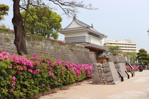 鶴丸城 御楼門-4