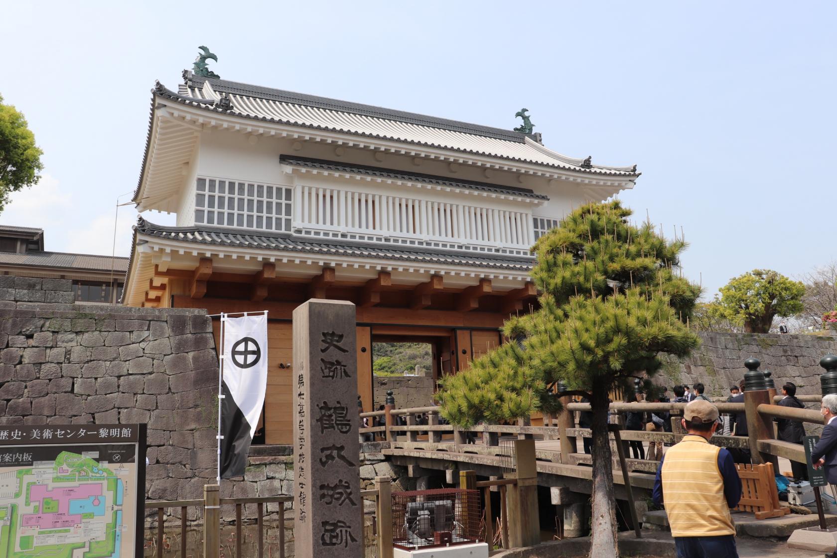 鶴丸城 御楼門-1