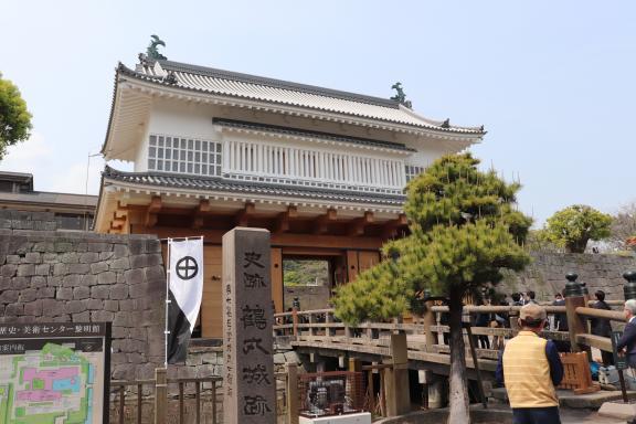 鶴丸城 御楼門-0