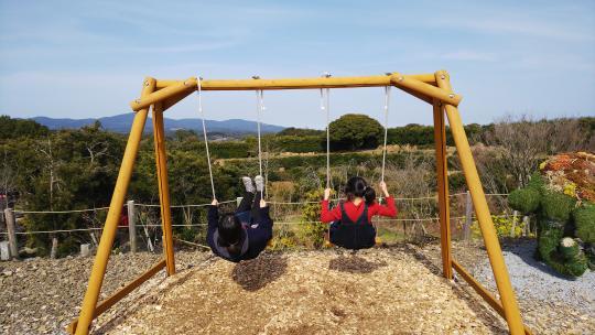 【阿久根市】農場花園 空-8