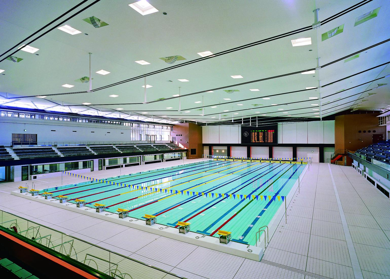 鴨池公園水泳プール-1
